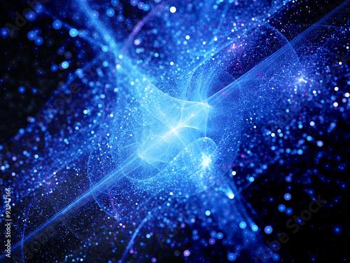 niebieskie-swiecace-wybuch-w-przestrzeni-kosmicznej-z-czastek