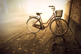Bike in autumn - 93957174
