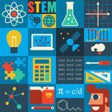 Fototapety STEM Education