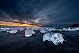 Fototapety Jokulsarlon ice beach, Iceland
