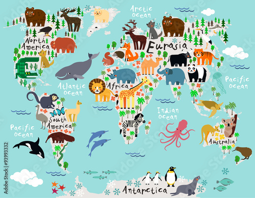 World map - 93993332