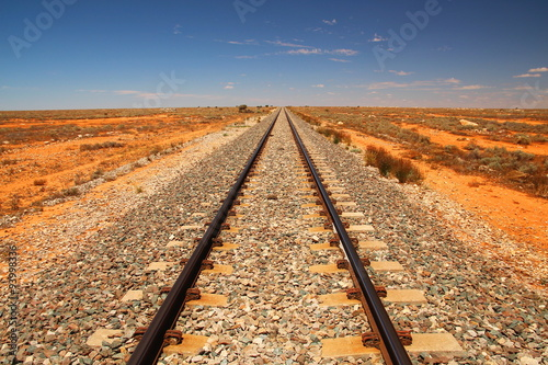 Plagát Indian-Pacific Railway across the Australian outback