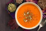 Fototapety pumpkin soup
