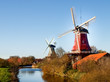 Greetsiel, traditional Dutch Windmill