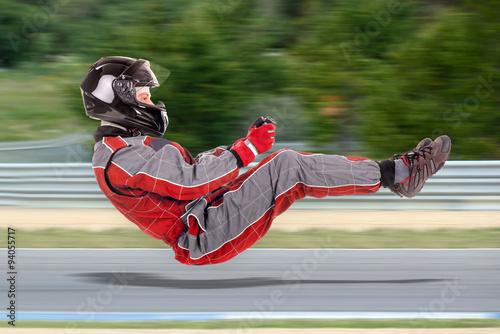In de dag F1 Racing driver