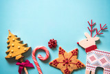 Christmas festive sweets food background - 94080128