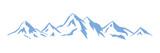 Fototapety Wintersport - Berge - 12