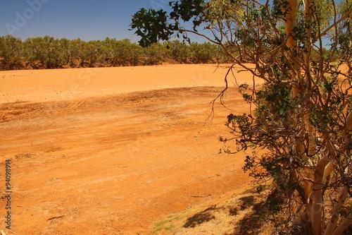 Poster Gascoyne River, Carnarvon, Australia
