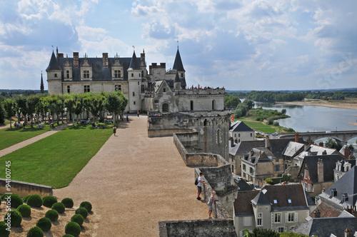 Il castello di Amboise, Loira - Francia Poster
