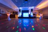Fototapety Tanzfläche für eine Hochzeitsfeier