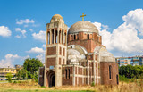 The Christ the Saviour Serbian Orthodox Cathedral in Pristina, K poster