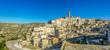 Ancient town of Matera at sunset, Basilicata, Italy