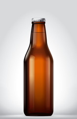 Beer blank bottle © master24