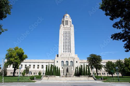 Nebraska State Capitol Building Poster
