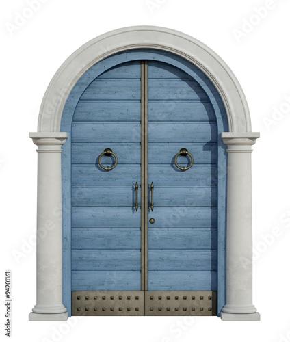 stary-dzwi-wejsciowy-z-kamiennym-portalem-na-bielu