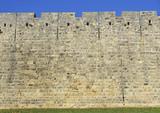 Muro del castello.