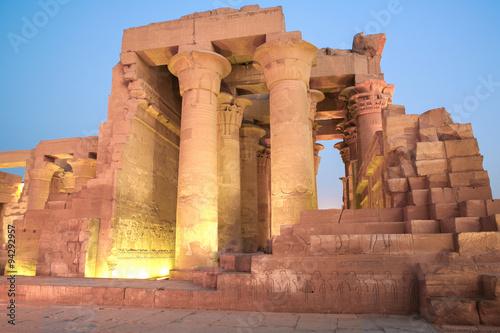 Poster Egypte Kom Ombo Temple, Egypt