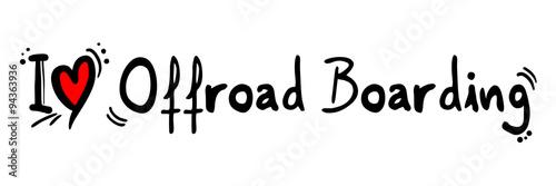 Offroad boarding