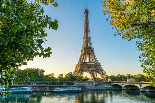 Plagát Paris Eiffelturm Eiffeltower Tour Eiffel