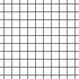 Fototapety Cell grid stripped geometric seamless pattern.