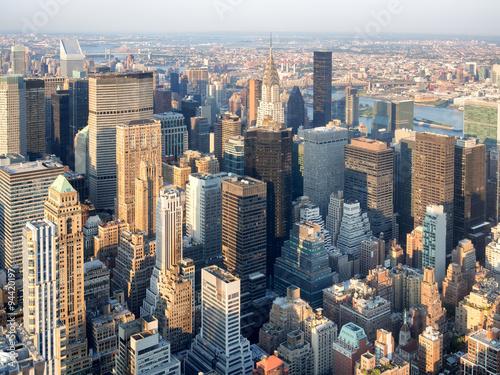 Skyscrapers at midtown Manhattan in New York