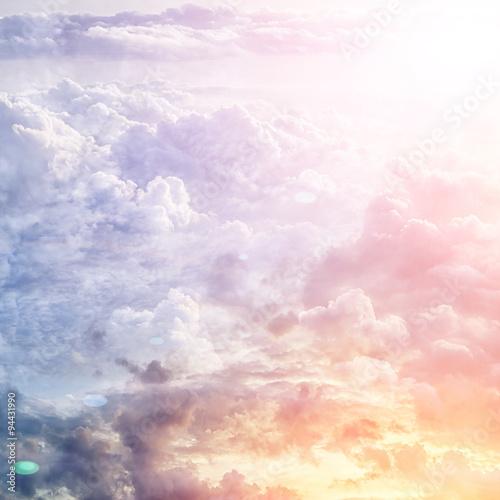 Beautiful blue sky - 94431990