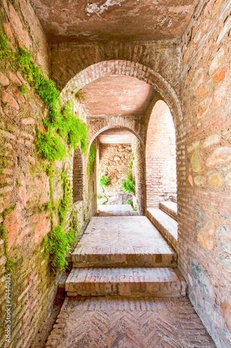 korytarz-twierdzy-alhambra