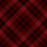 Red diagonal tartan seamless pattern background - 94450961