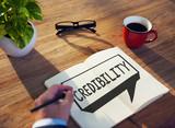 Credibility Partnership Determination Inspiration Concept poster