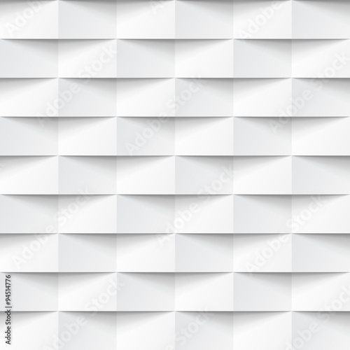 White seamless geometric texture - 94514776