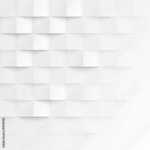 White seamless geometric texture - 94514782