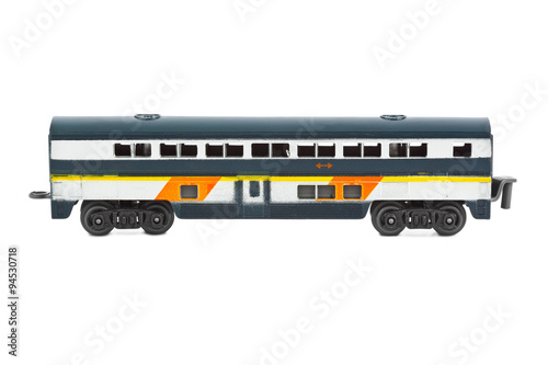 Poster Toy passenger wagon