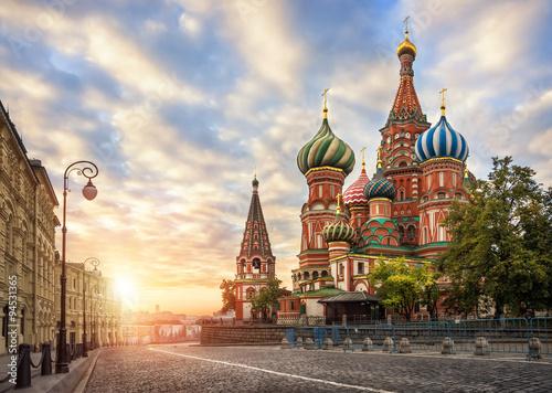 Poster Собор Василия Блаженного на Красной Площади
