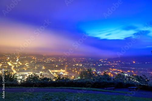 Poster Bath city skyline