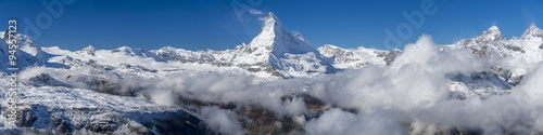 Poster The Matterhorn Panorama