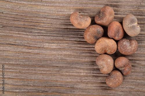 Deurstickers Baobab Baobab seeds
