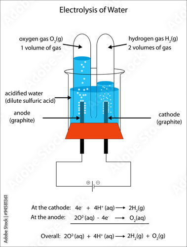fully labeled diagram of the electrolysis of water to form hydrogen rh apimages com electrolysis of water energy profile diagram circuit diagram for electrolysis of water