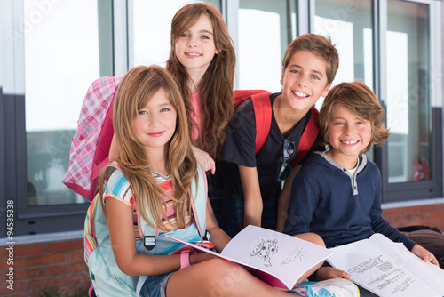 Poszter Kids in School