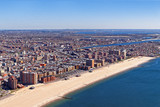 Fototapety Aerial view of Long Island in New York