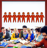 Community People Togetherness Fellowship Concept poster