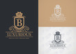 Detaily fotografie luxusní design logo