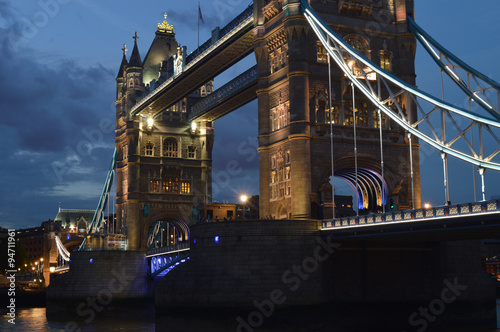 Tower Bridge angled view