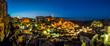 Ancient town of Matera at dusk, Basilicata, Italy