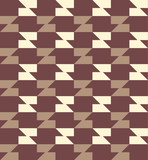 Geometric seamless pattern background with trapezoid. poster