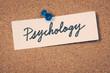 Постер, плакат: psychology