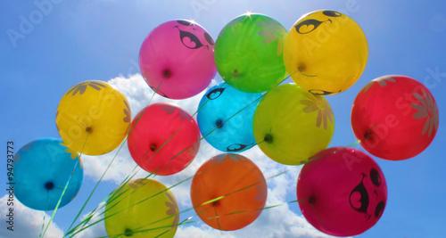 balloons blue sky © livarnava