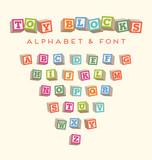 alphabet blocks baby blocks font  - 94803946