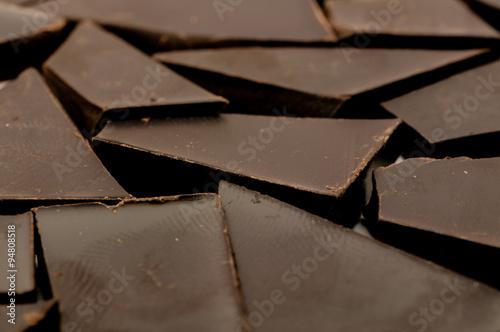 Poster Dunkle Schokolade