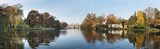 Fototapety Panorama of Royal Palace on the Water in the Lazienki Park, Wars