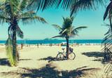 Fototapety Beach in Barra da Tijuca, Rio de Janeiro. Brazil
